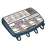 Tecmate Optimate 3 x 4 Bank, TM-455, 4-Bank x 7-Step 12V 0.8A Battery Saving Charger-Tester-maintainer