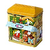 Enesco Silver Crane Easter Canopy House Tin, 6-Inch offers
