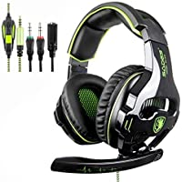 SADES SA810 New Updated Gaming Headset Xbox One Headset...