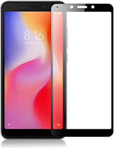 Curved Tempered Glass for Xiaomi Redmi 6A Screen Protector 9H Hardness 3D Full Coverage Shockproof Glass