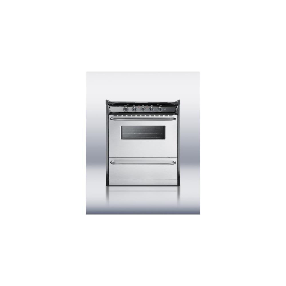 Amazon.com: Summit TEM210BRWY Kitchen Cooking Range, Stainless Steel ...
