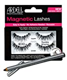 Ardell Professional Double Wispies Magnetic Lashes + Unikcolours Black Eyeliner Pencil - Eye Makeup Set