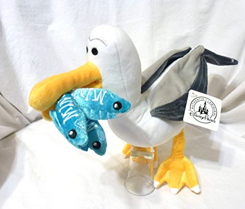 Disney Finding Nemo Mine Seagull Plush Doll NEW