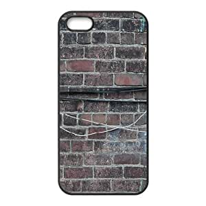 Brick Wall Case For HTC One M8 Cover Case For Women, Case For HTC One M8 Cover [Black]