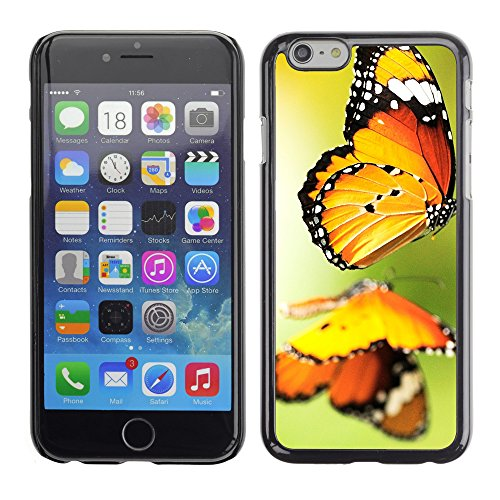 Premio Sottile Slim Cassa Custodia Case Cover Shell // V00003046 papillon // Apple iPhone 6 6S 6G PLUS 5.5""