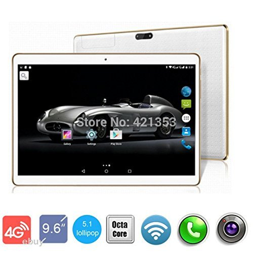 4G LTE 9.7 inch 8 core White Tablet PC Octa Cores 2560X1600 IPS RAM 4GB ROM 64GB 8.0MP WIFI 3G Dual sim card Wcdma+GSM Tablets PCS Android5.1 electronics 7 9 10 by DND