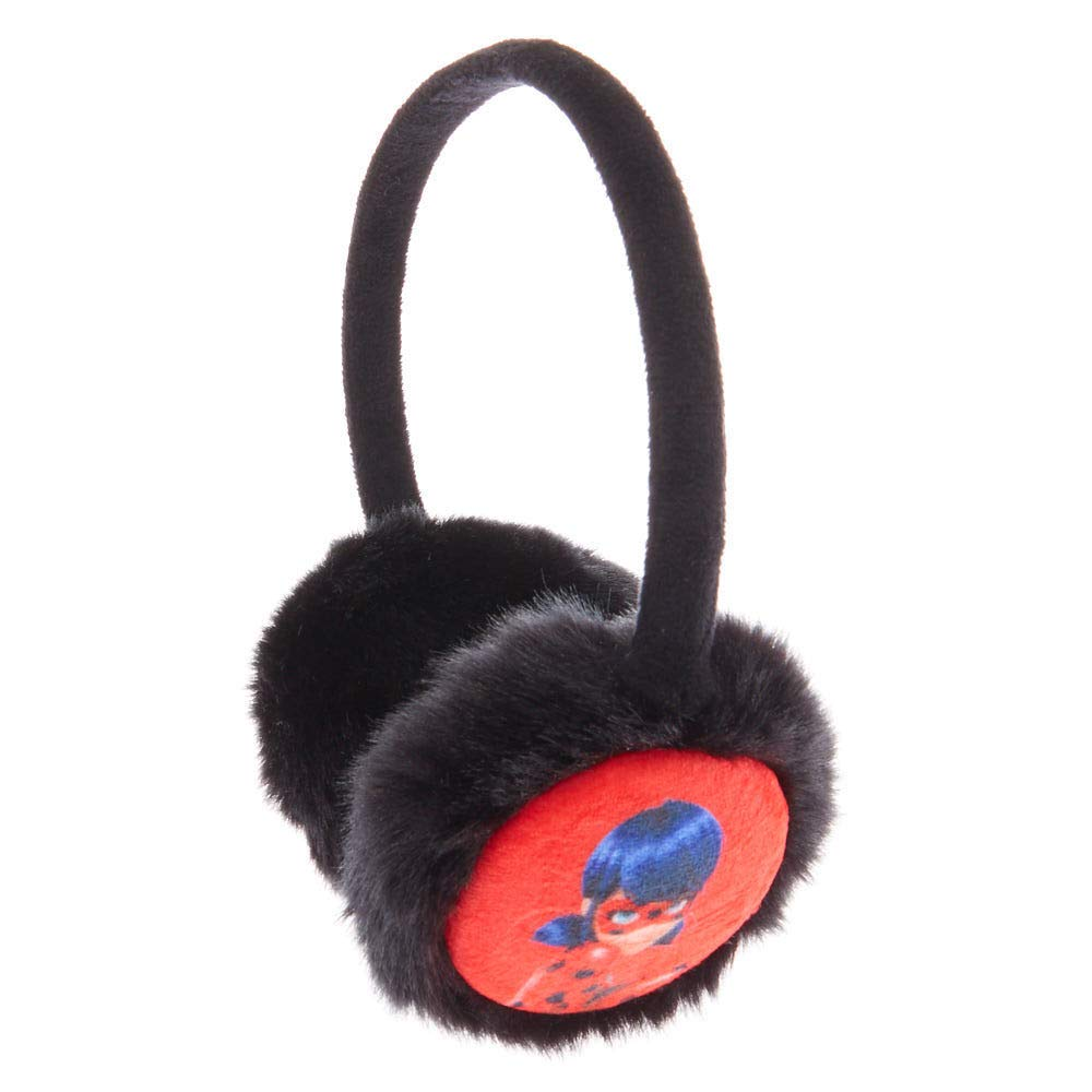 Claire's Girl's Miraculous™ Furry Ear Muffs- Black Claire's Girl's MiraculousTM Furry Ear Muffs- Black