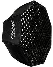 Godox SB-UE 80cm / 31.5in Portable Octagon Honeycomb Grid Umbrella Speedlite Softbox with Bowens Mount