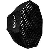 Godox SB-UE 80cm / 31.5in Portable Octagon Honeycomb Grid Umbrella Speedlite Softbox with Bowens Mount