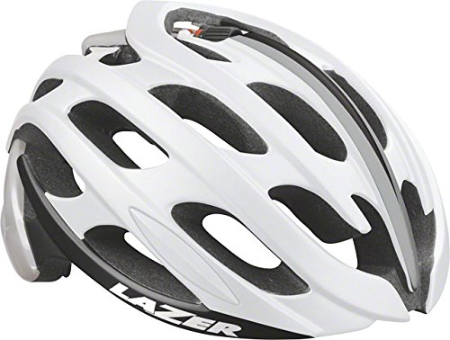 Lazer Blade Helmet: White and Silver SM Bicycle Size Small (Silver Blade Tours)