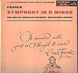 Cesar Franck, Erich Leinsdorf, The Robin Hood Dell Orchestra Of Philadelphia: Symphony In D Minor LP VG++