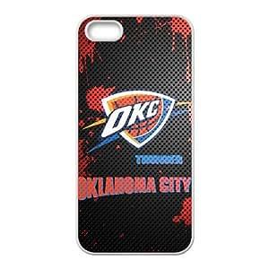 DAZHAHUI Oklahoma City Thunder Logo Phone Case for Iphone 5s wangjiang maoyi by lolosakes