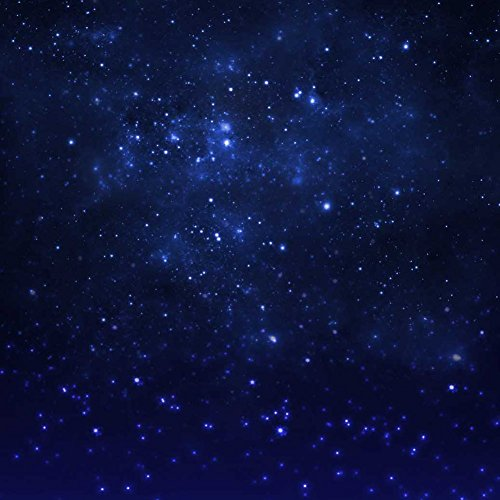 GladsBuy Starry Sky 10' x 10' Computer Printed Photography Backdrop Universe Star Theme Background S-1805 by GladsBuy (Image #1)