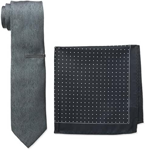 Nick Graham Men's Black Tie Instant Style Kit