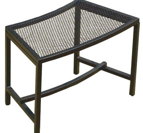 Curved Garden Bench (CobraCo Bravo Mesh Fire Pit Bench WBN750-1PK)