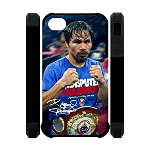 Active Manny Pacquiao Apple Iphone 4S/4 Case Cover Dual Protective Polymer Cases Boxing Give Us
