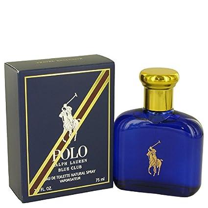 Polo Blue Club by Ralph Lauren Eau De Toilette Spray 2.5 oz / 75 ...