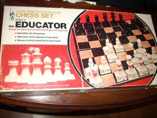 1972 Vintage - Classic Games Collectors Series Chess Set