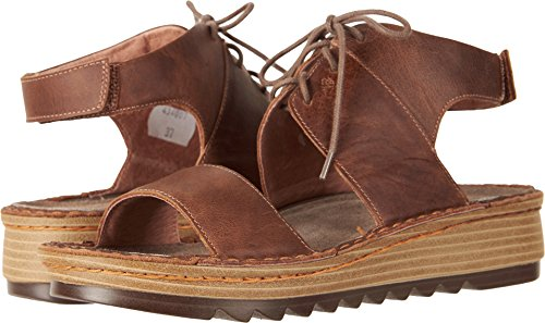 NAOT Women's Alpicola Saddle Brown Leather 41 M EU