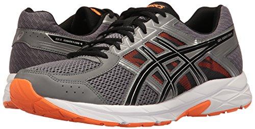 ASICS Men's Gel-Contend 4 Running Shoe, Carbon/Black/Hot Orange, 6.5 M US by ASICS (Image #6)