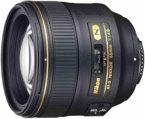 Nikon AF-S FX NIKKOR 85mm f/1.4G Lens with Auto Focus for Nikon DSLR Cameras