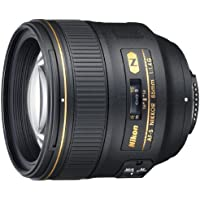 Nikon AF-S FX NIKKOR 85mm f/1.4G Lens with Auto Focus for Nikon DSLR Cameras