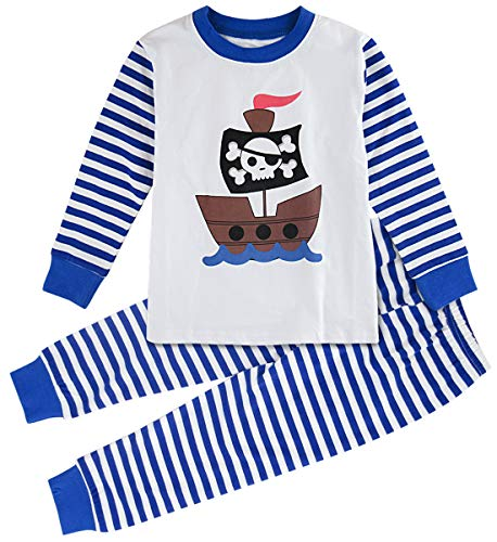 Pirate Pajamas For Toddlers - A&J DESIGN Toddler Boys Pirate Ship