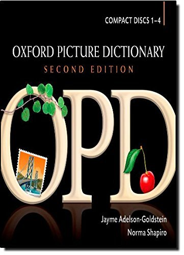 Oxford Picture Dictionary Audio CDs (4): American English Pronunciation of OPD