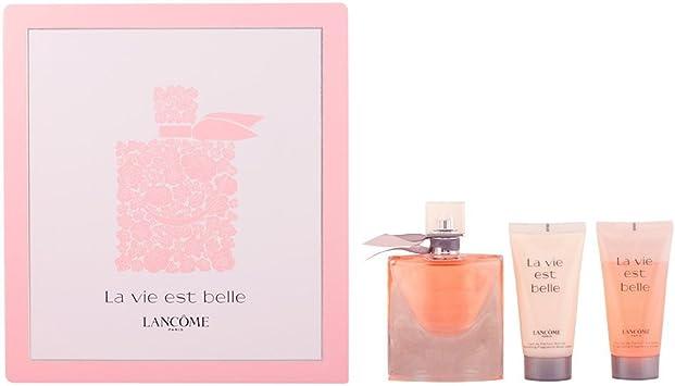 Lancôme La Vie Est Belle Agua de Perfume + Gel de Ducha + Loción Corporal - 1 Pack: Amazon.es: Belleza