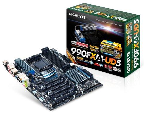 Gigabyte Sata Controller (GIGABYTE GA-990FXA-UD5 AM3+ AMD 990FX SATA 6Gb/s USB 3.0 ATX AMD Motherboard)