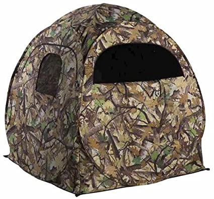 popup hunting alpha bowhunting thehunt ground during groundblinds blinds blind version