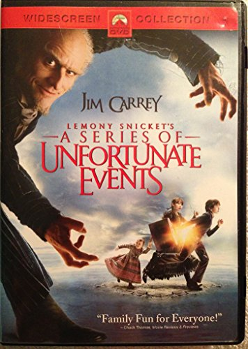 Lemony Snicket's A Series Of Unfortunate Events (Paramount/ Widescreen/ Special Edition/ Checkpoint)