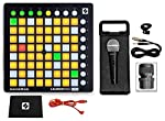 Novation LAUNCHPAD MINI MK2 MKII USB MIDI DJ Controller 64-Pad+Mic+Cable+Case from Novation