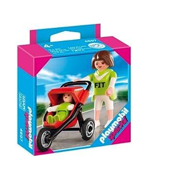 poussette bebe playmobil