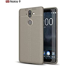 Nokia 8 Sirocco Case, TopACE [Shock Absorption] Flexible TPU Soft Skin Silicone Cover for Nokia 9 / Nokia 8 Sirocco (Gray)
