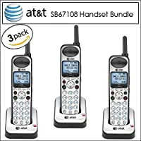 AT&T SB67108 Accessory Expansion Handset for use with Expansion Handset 3 Pack
