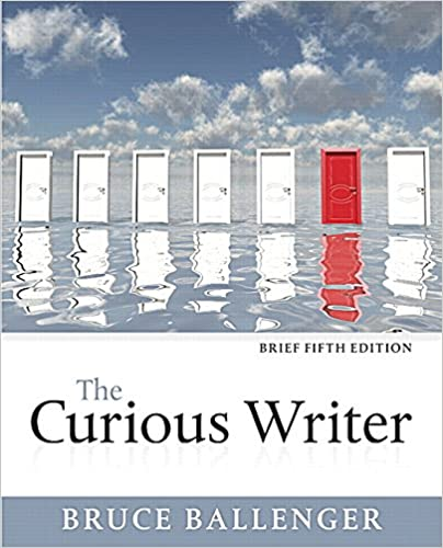 Book The Curious Writer, Brief Edition