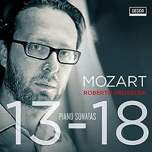 Mozart: Piano Sonatas 13-18
