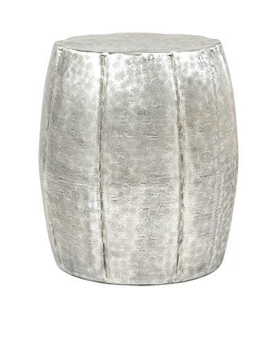 IMAX 19950 Vanora Accent Table (Table Silver Drum)