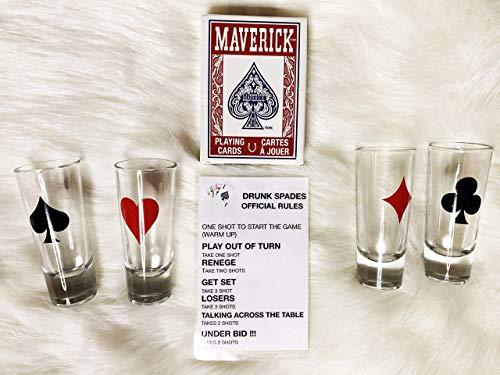 DRUNK SPADES CARDS