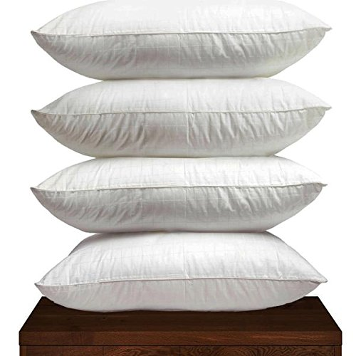 **SPECIAL OFFER** 4 X DUCK FEATHER HOTEL QUALITY PILLOWS Hotel Linens pm