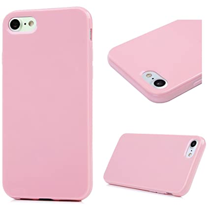 iPhone 7 Funda Silicona Gel TPU Suave, Badalink Carcasa para iPhone 7 Protective Carcasa Case Cover Resistente al Desgaste