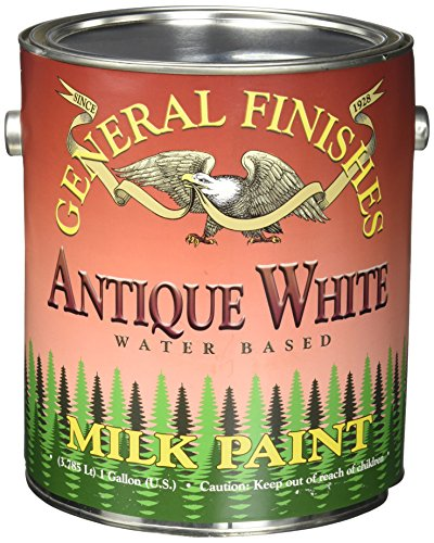 General Finishes Antique White Milk Paint, Gallon from General Finishes