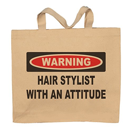 Hair Stylist With An Attitude Totebag Bag by T-ShirtFrenzy