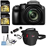 Panasonic Lumix DC-FZ80 Digital Camera, Lexar Professional 600x 16GB SDHC 2 Pack Bulk Memory Cards, Ritz Gear Camera Bag, Cleaning Kit and Accessory Bundle Review
