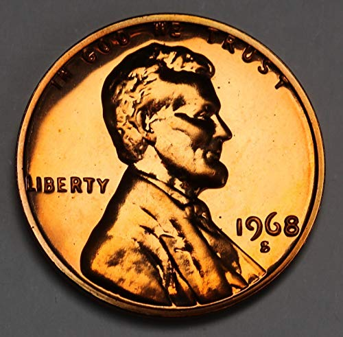 1968 S Lincoln Memorial Penny Cent Gem Proof US Mint