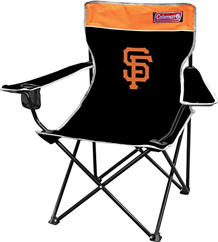 ants Broadband Quad Chair, Large, Black (San Francisco Giants Merchandise)