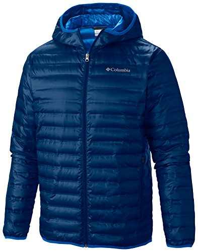 blue Columbia hood navy flash a jacket forward down with men's faWp7fzH