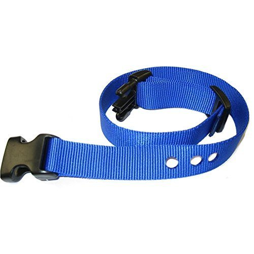 "1"" Wireless/Stubborn Dog In-Ground Replacement Collar Strap; Compare to the PetSafe RFA-48 (Blue) For Sale"