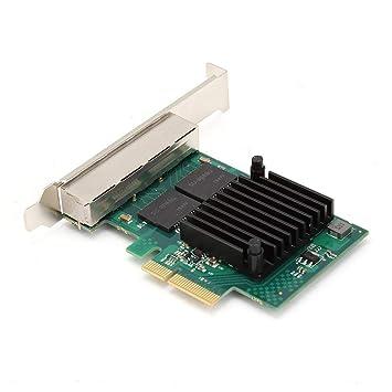 Tarjeta de Red PC Gigabit, Tarjeta de Adaptador PCI-E X4 ...